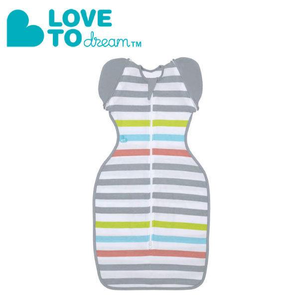 『121婦嬰用品館』澳洲 Love To Dream SWADDLE UP 50/50 專利蝶型包巾-輕薄 stage2 可拆式進階款 - 輕薄彩紋(M) 0