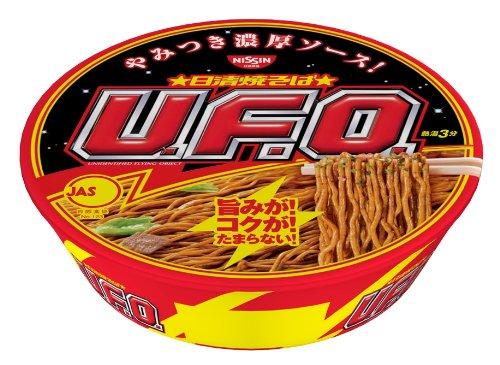 有樂町進口食品 日清 UFO炒麵 128g 4902105022122 0