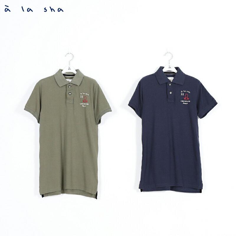 a la sha enco 阿福印花POLO衫(男) 2