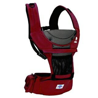 『121婦嬰用品館』PUKU 多功能腰凳揹巾 - 紅 0