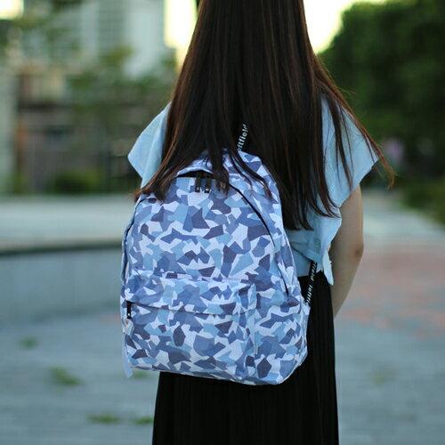 【包包阿者西】後背包 韓國LEFTFIELD迷彩後背包 電腦包 書包 NO.702 조각위장지