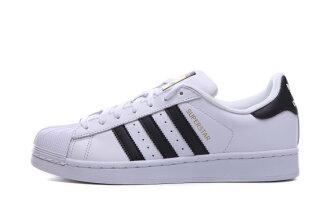 Adidas Superstar 金標背殼鞋 白黑 情侶鞋