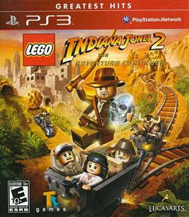 PS3 樂高印地安納瓊斯大冒險2(包含近百種人物道具佈景載具獎盃密碼)  -英文紅盒美版- LEGO Indiana Jones 2