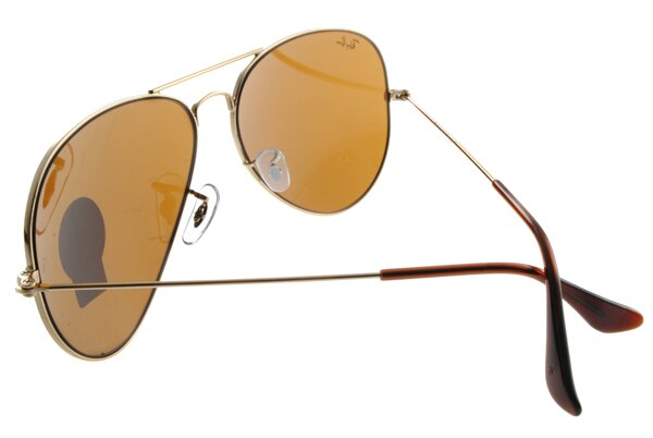 Ray Ban 雷朋 金邊茶色鏡片 RB3025 太陽眼鏡 6