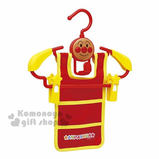 〔小禮堂〕麵包超人 多 兒童衣架~紅黃.大臉.星星~防滑