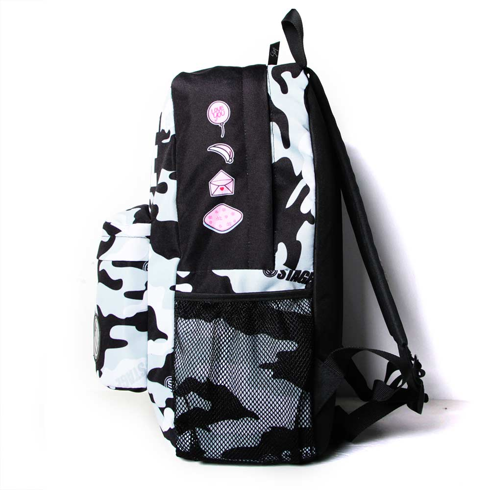 STAGE BAG × UNCLES FRIENDS GRAY BACKPACK 黑灰色 射手座 3