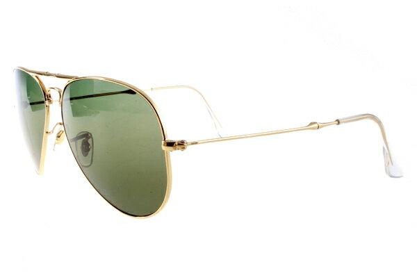 Ray Ban 雷朋 金邊綠鏡 折疊太陽眼鏡 RB3479 4