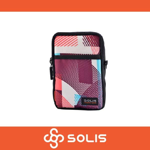 萬特戶外運動 SOLIS B07010 馬戲團系列多功能萬用包 側背包 腰包 防潑水 嫩粉色