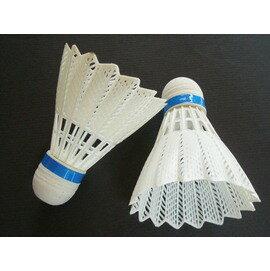 膠羽球 羽毛球 塑膠羽毛球(PVC白色)/一筒3個入{定30}
