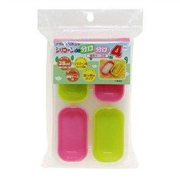 【淘氣寶寶】阿卡將Akachan365 軟質矽膠微波保鮮盒 38ml*4入【保證原廠公司貨】