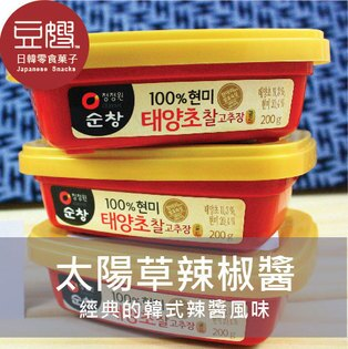 【豆嫂】韓國零食 太陽草辣椒醬
