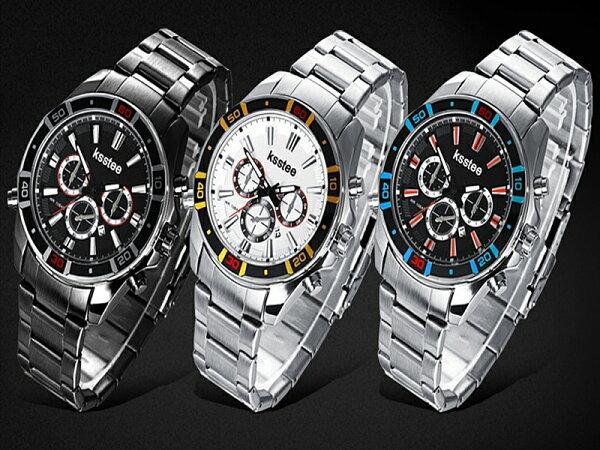 《316小舖》【PK10】(優質不銹鋼石英手錶-30米防水手錶(可洗澡)-單件價/送禮推薦手錶/熱賣手錶/Ksstee)