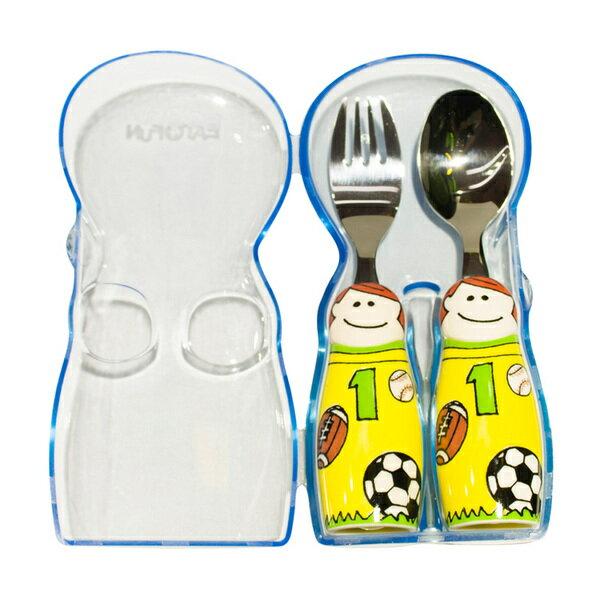 『121婦嬰用品館』EAT4FUN 外出餐具攜帶盒 - 藍 2