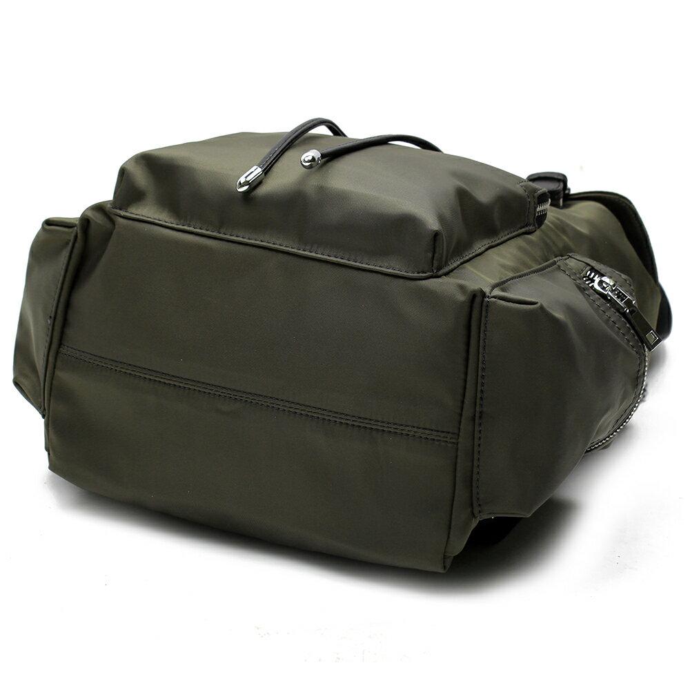 【BEIBAOBAO】倫敦學院防水布配真皮後背包(共兩色:時尚黑) 5