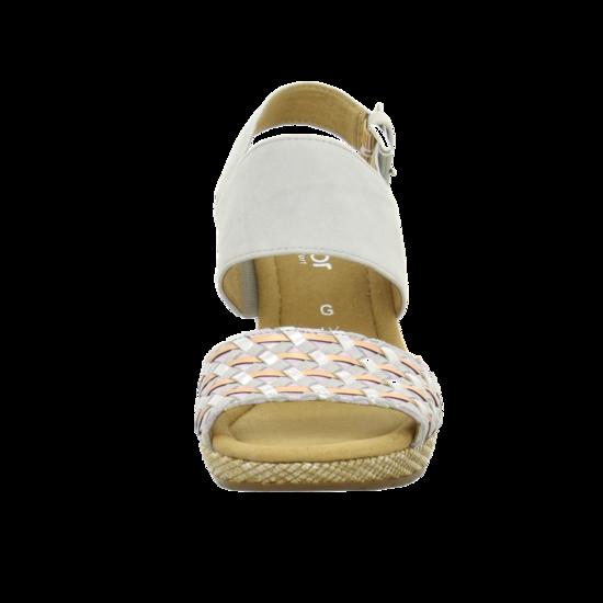 Gabor 滾騰編織感楔型鞋 米 8