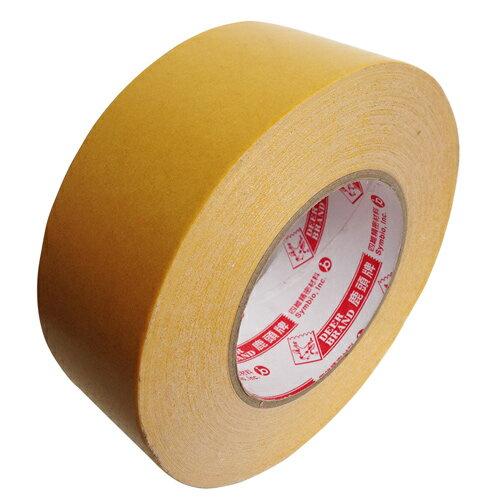 【鹿頭牌 雙面膠帶】DS17B 萬黏雙面布膠帶36mm×25M(6支/卷)