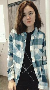 Abercrombie&Fitch女生襯衫