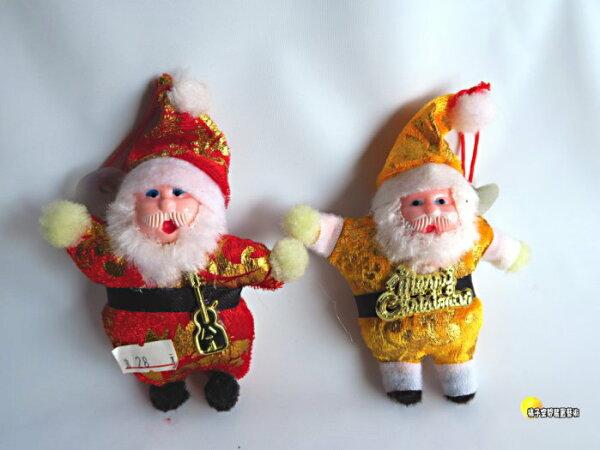 [橘子空間裝置藝術] Q版聖誕老公公吊飾 ~繽紛聖誕節飾品~☆人造樹.居家.店面.櫥窗.玄關.大廳擺飾.節慶派對佈置☆