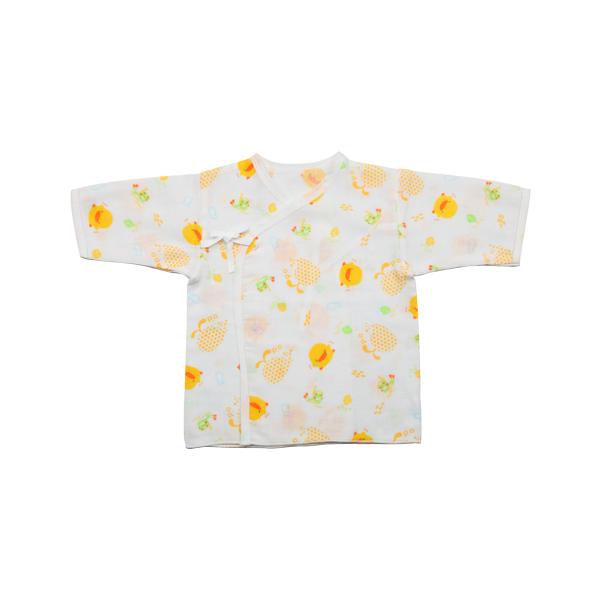 『121婦嬰用品館』黃色小鴨 印圖紗布肚衣 0