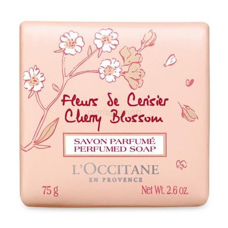 L'Occitane 歐舒丹 櫻花香氛皂 75 G【巴黎好購】 - 限時優惠好康折扣