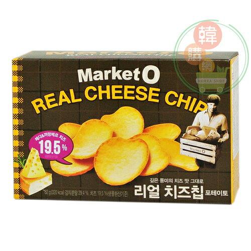 【韓購網】韓國Market O 起司洋芋片62g★酥酥脆脆香濃起司★韓國暢銷餅乾