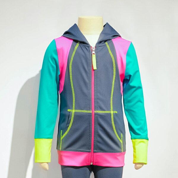 【GAZEME】女童裝 吸濕排汗休閒運動外套