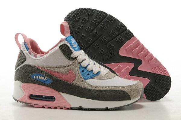 NIKE AIR MAX 90 透氣 氣墊 慢跑鞋 中幫運動鞋 女生休閒鞋 女鞋