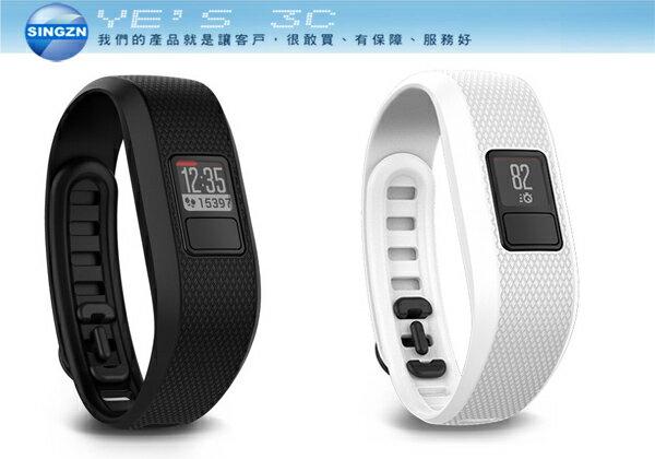 「YEs 3C」GARMIN Vivofit3 Vivofit 3 健身手環 長達1年的待機時間 支援心率感測器 內建全新Move IQ 免運