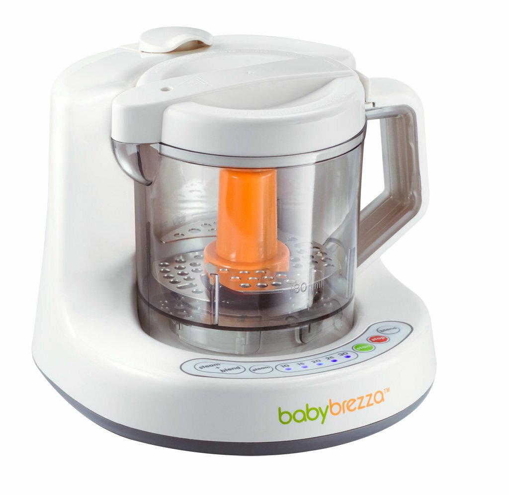 【預購】【贈專用蒸鍋】美國【Babybrezza】副食品自動料理機 (蒸煮、攪碎、完成副食品) 1