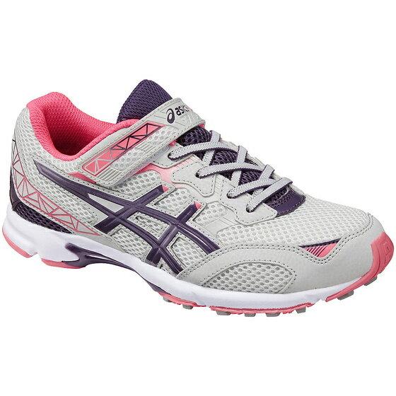 [陽光樂活]ASICS 亞瑟士 LAZERBEAM RA-MG 兒童慢跑運動鞋(女童) C6C8N-1333 淺灰紫