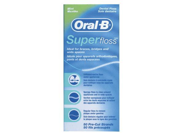 【Oral-B】三合一牙線50支 - 限時優惠好康折扣
