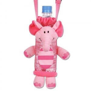 美國【Stephen Joseph】兒童造型水壺袋(粉紅象) - 限時優惠好康折扣