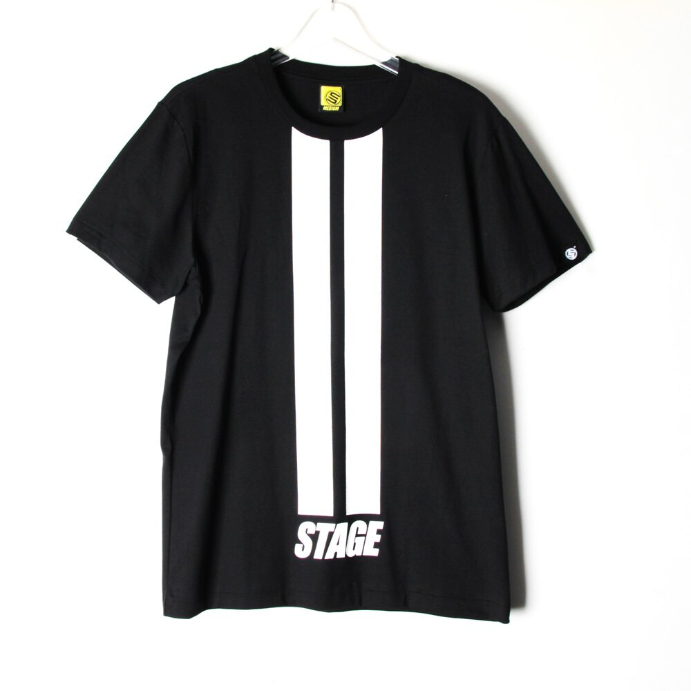 STAGE DOUBLE LINE TEE 黑色/白色 兩色 3