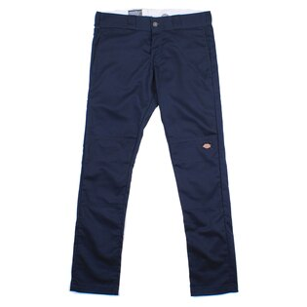 【EST】美版 DICKIES WP811 SKINNY FIT WORK PANTS 窄版 直筒 工作褲 [DK-5005-086] 深藍 W28~36 F0108