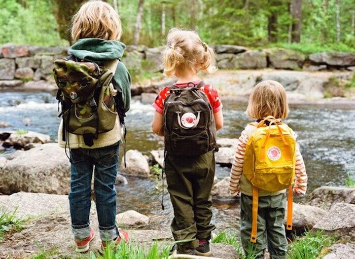 瑞典 FJALLRAVEN KANKEN  Kids 孩童背包 小狐狸包 多色 1