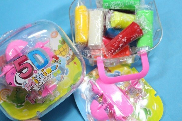 彩色黏土 5D手提彩色泥土+工具組包 TK452彩泥土 童玩捏麵人/一個入{促80}~75123