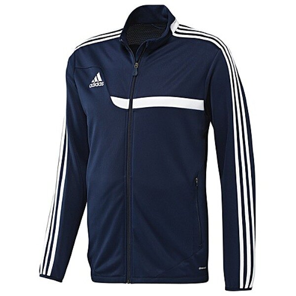 Adidas Tiro 13 Junior Boy's Track Training Jacket - Navy Blue 0