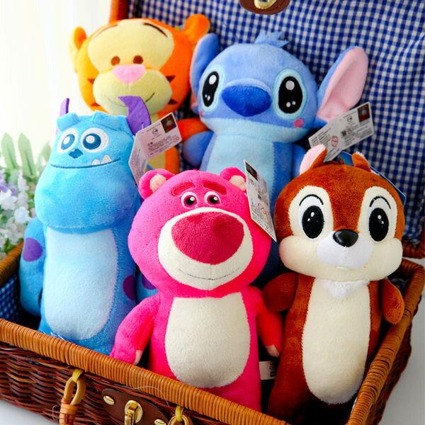 正版迪士尼全身小娃娃 熊抱哥 毛怪 史迪奇 跳跳虎 奇奇 填充娃娃 布偶 玩偶 玩具 皮克斯【B060486】