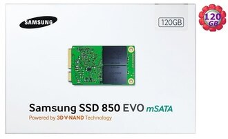 SAMSUNG SSD 850 EVO 120GB 【mSATA】 MZ-M5E120BW SATA6Gb/s 內接式 筆電固態硬碟