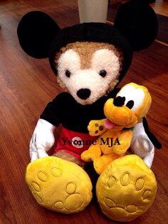 *Yvonne MJA美國代購*美國迪士尼Disney 樂園限定正品Duffy達菲熊雪莉玫熊S號娃米奇套裝外衣