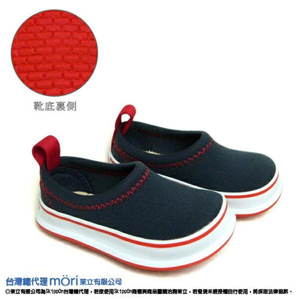 日本熱賣SkippOn幼兒戶外機能鞋-海軍藍