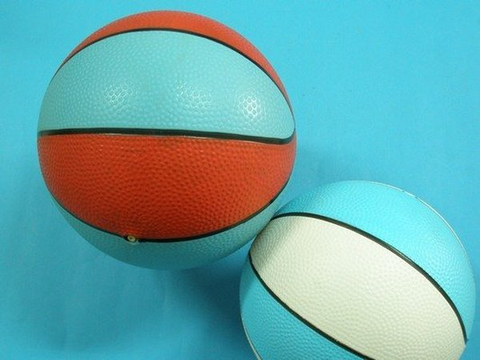 三色球 兒童安全球 小皮球玩具球 雙色球 橡膠球 充氣球 直徑20cm/一個入{促80}