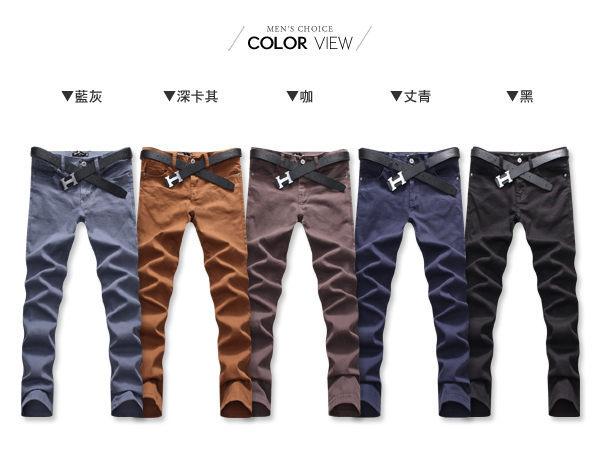 【PPK85023】《買長褲送長褲》韓版素面修身長褲☆BOY-2☆ 3