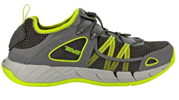 [陽光樂活]TEVA(男) CHURN  護趾水陸兩用運動鞋 TV4153GREY  綠色