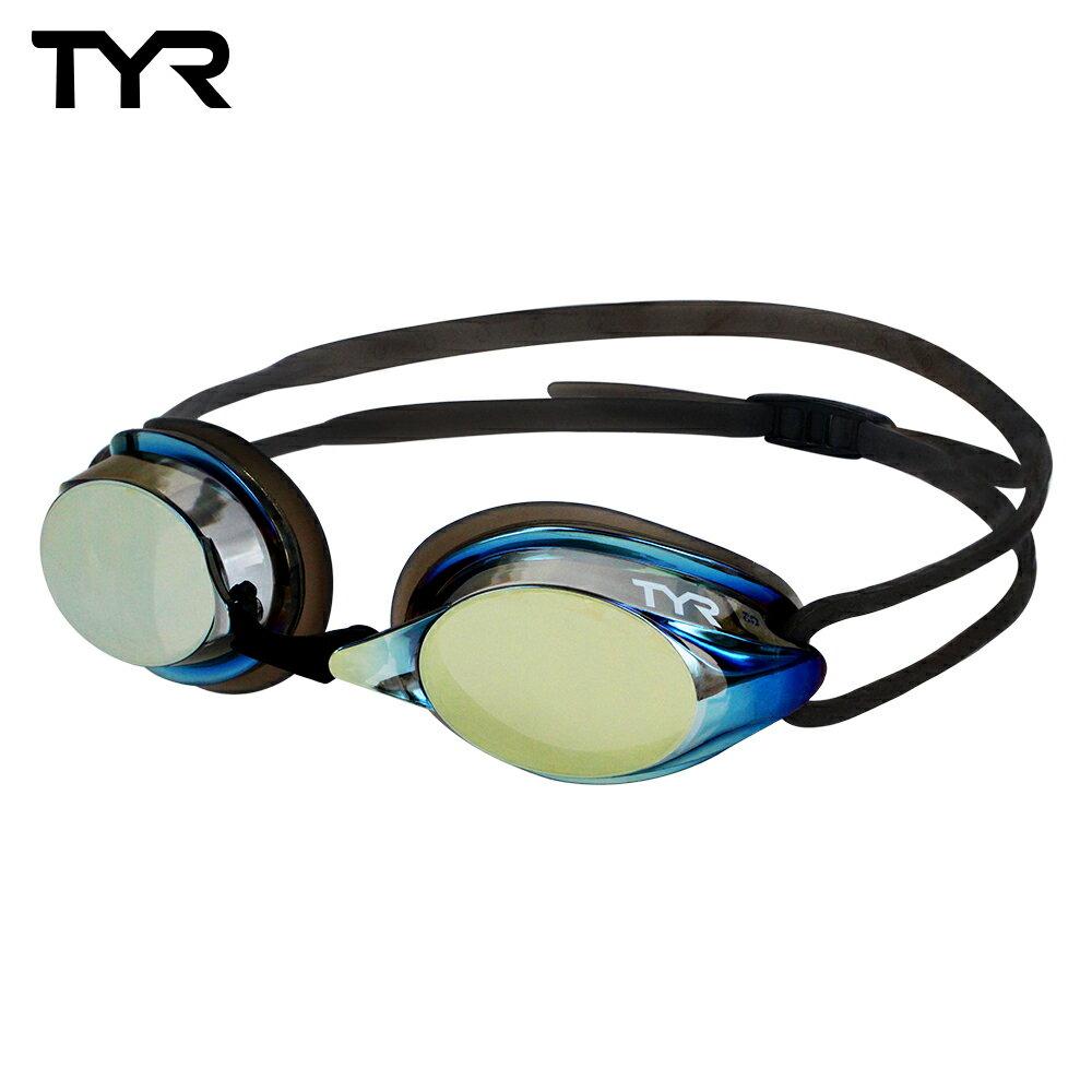 美國TYR 成人用競速電鍍泳鏡 Velocity Metallised 台灣總代理-電鍍防霧鏡片 - 限時優惠好康折扣