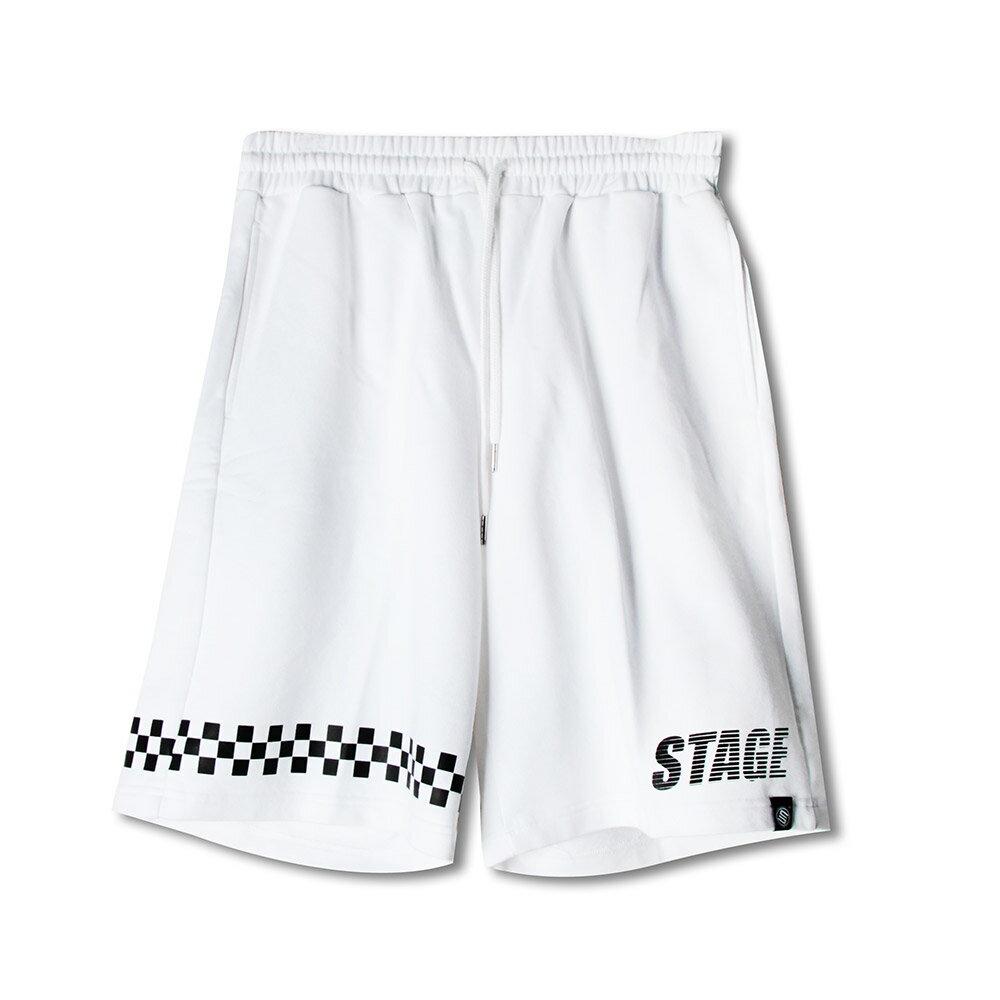 STAGE BREAKER BAGGY SHORTS 黑色/白色 兩色 2