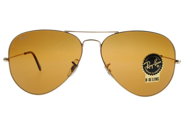 Ray Ban 雷朋 金邊茶色鏡片 RB3025 太陽眼鏡 3
