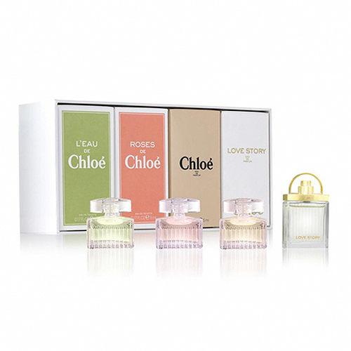 Chloe 經典小香禮盒四件組 (5ml×3+7.5ml)【特價】§異國精品§