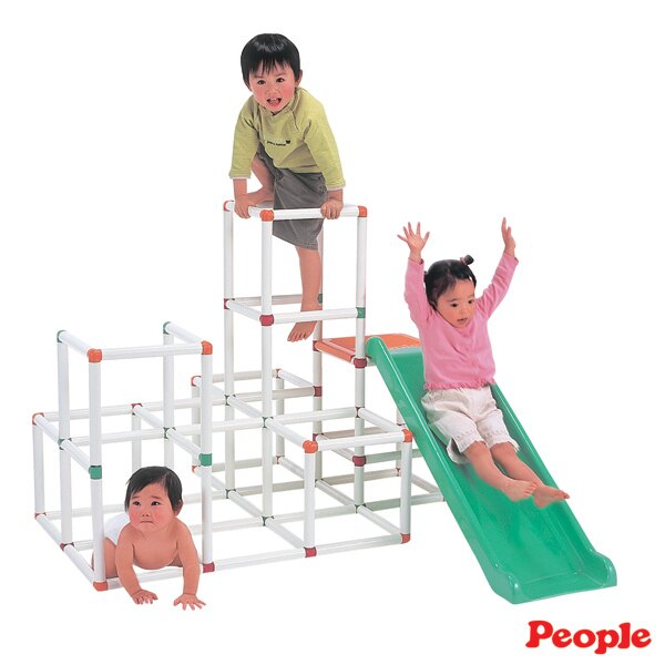 People - 4層攀爬架滑梯組 2