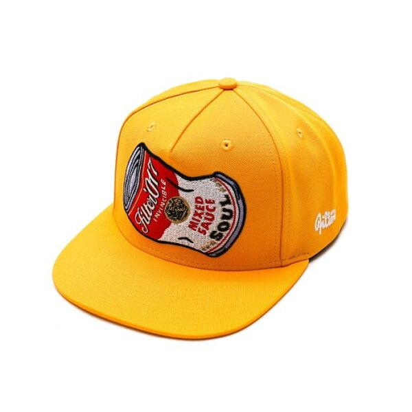 ►法西歐_桃園◄ Filter017 Snapback Soup Can 湯罐 翻玩 罐頭 白 黃 藍 棒球帽 工作帽 黃色